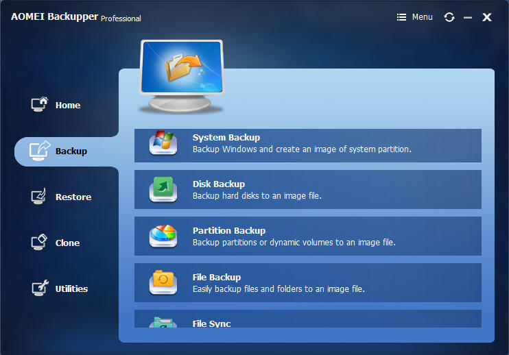 AOMEI Backupper 6.0 Crack (All Edition) Free Download