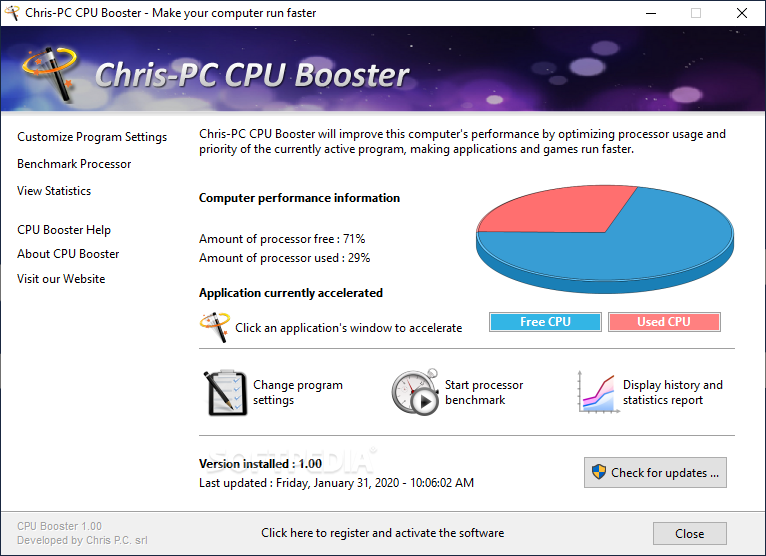 Chris-PC CPU Booster 1.12.21 Crack [Latest] Free Download