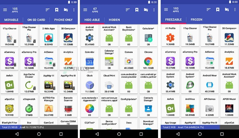 AppMgr Pro Crack APK Full Patched Latest Free Download